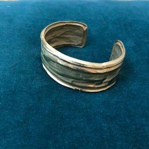 Givenchy gold cuff bracelet